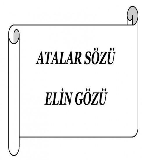 atalar sözleri azerbaycan dilinde